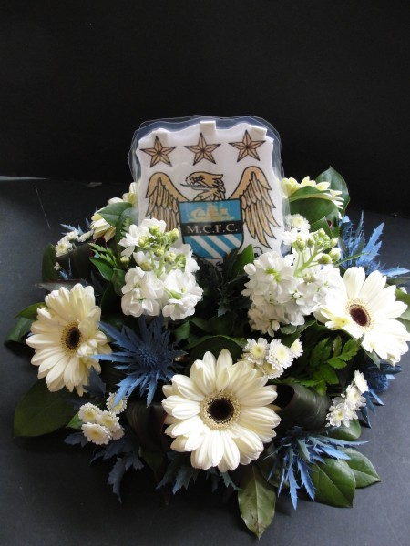 MCFC funeral posy