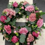 pretty pinks wreath