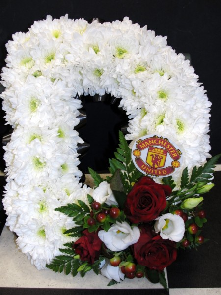 Letter with MUFC badge