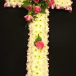 Massed large cross, ribbon edging