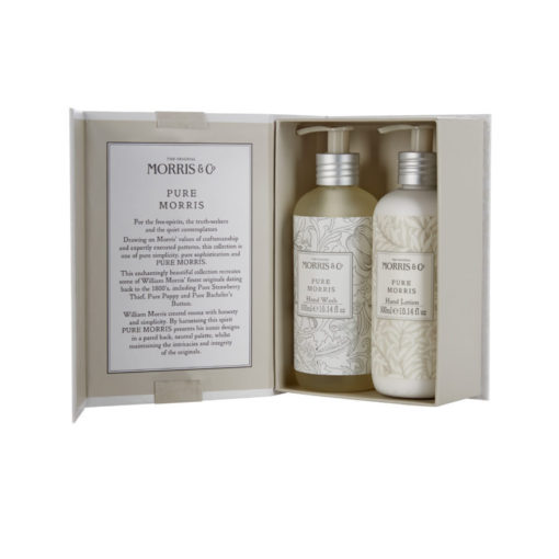 FG6234 Morris & co Pure - hand wash and hand lotion duo - open